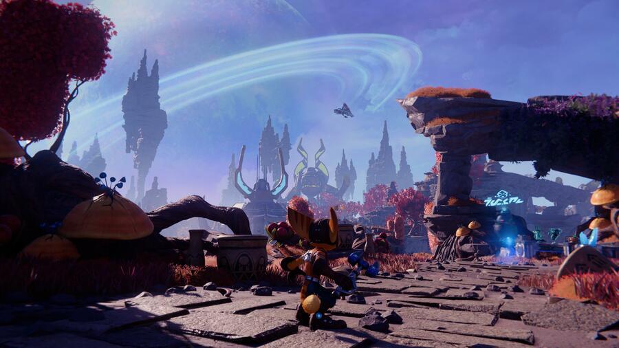 Ratchet & Clank: Rift Apart: Savali (Urfdah Mesa) - All Collectibles: Spybots, Gold Bolts, Armour, Lorbs, CraiggerBears 1