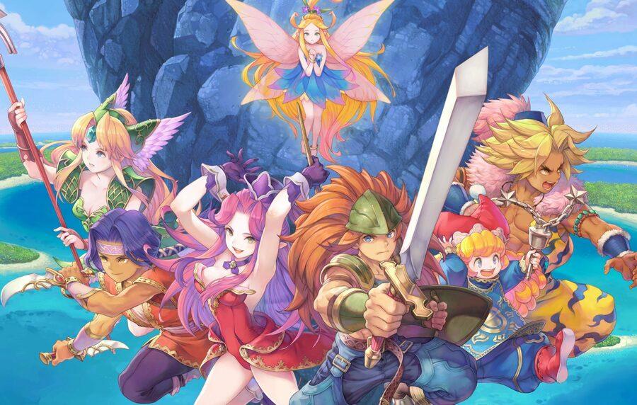 Trials Of Mana PS4 Demo