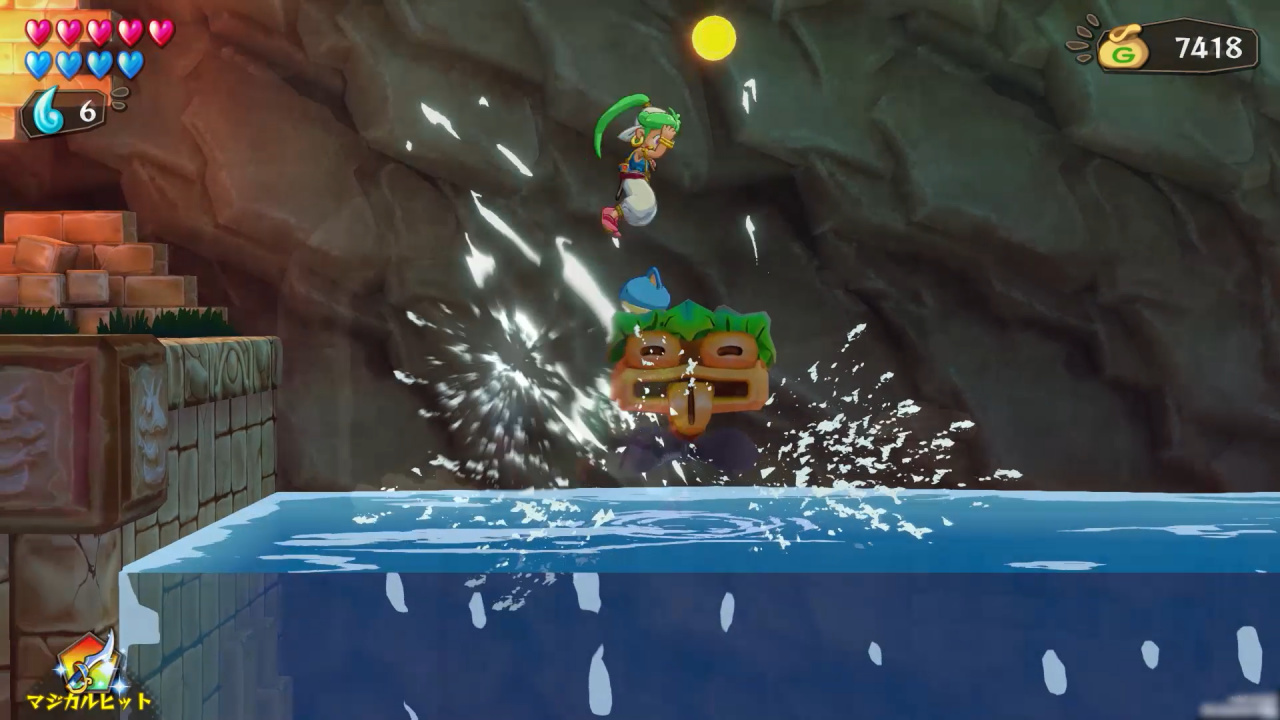 Wonder Boy: Asha in Monster World Brings Classic Platforming to PS4 on 28th May