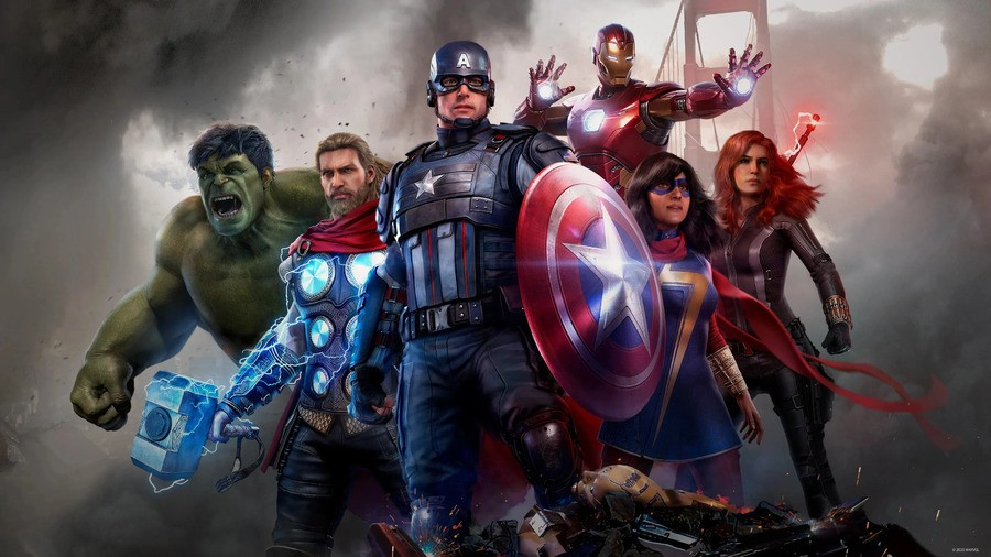 Marvels Avengers Ps5 Ps4