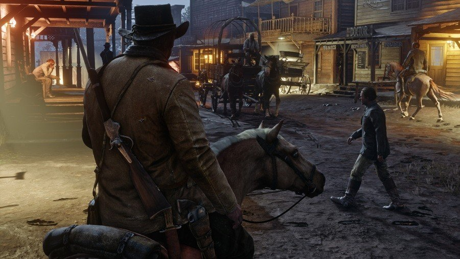 Red Dead Redemption 2 How To Play in First-Person PS4 PlayStation 4 1