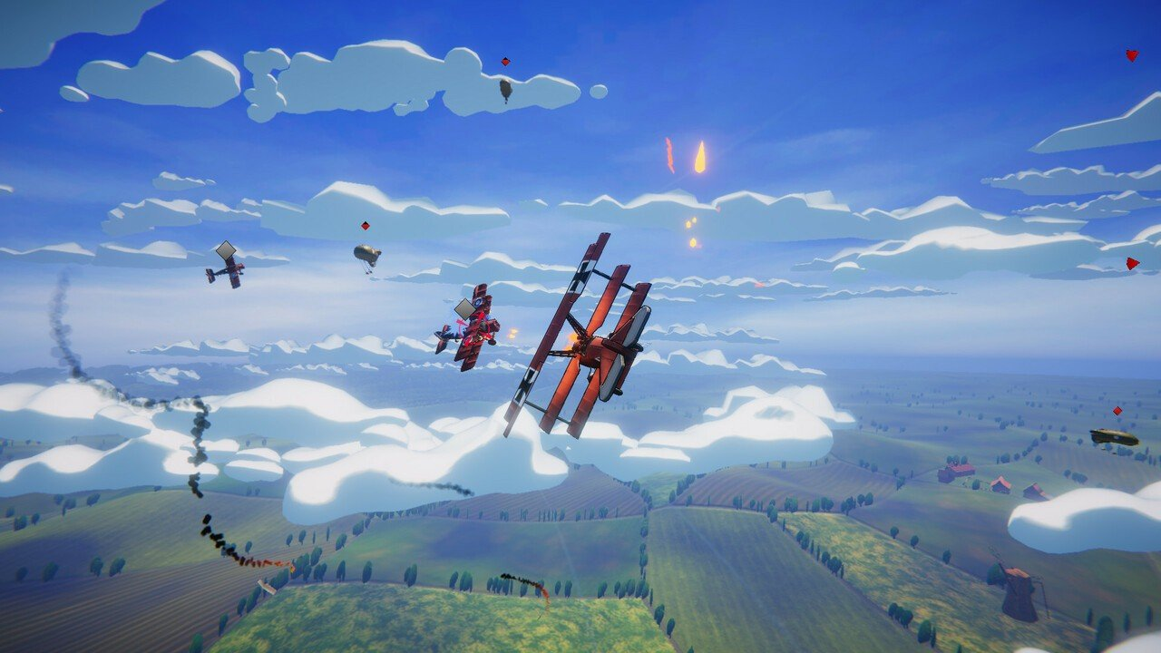 Red Wings: Aces of the Sky Brings Colourful Dogfights to PS4
