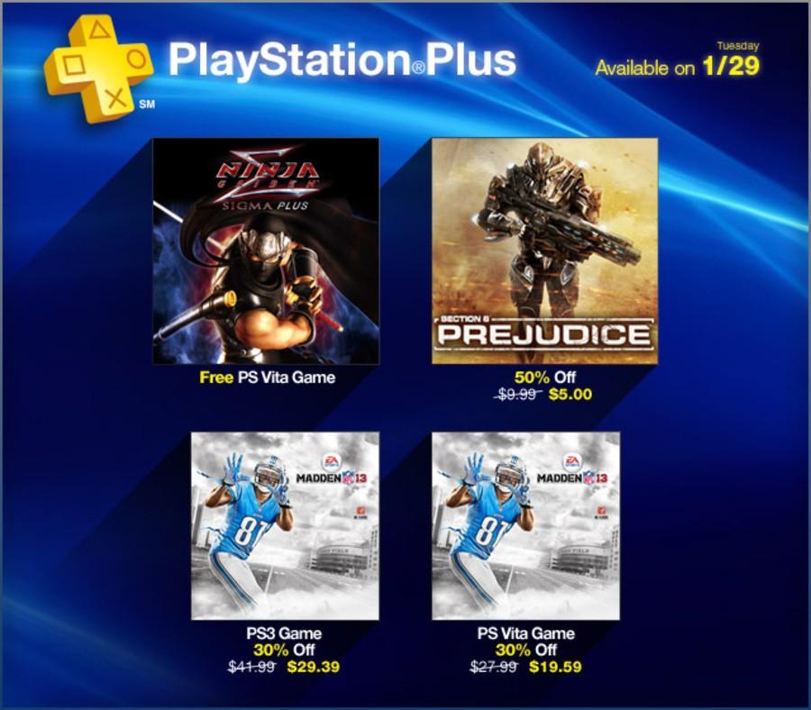 Ninja Gaiden Sigma Plus Strikes North American PS Plus