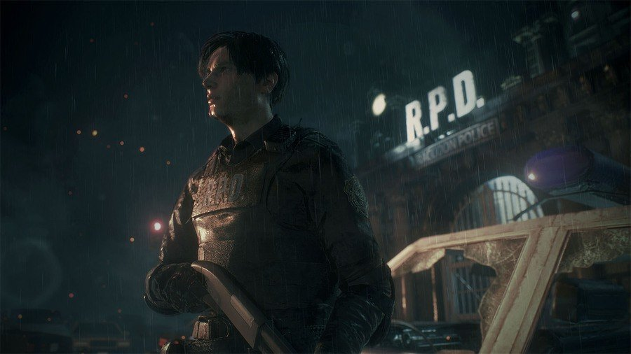 Resident Evil 2 Demo PS4 PlayStation 4