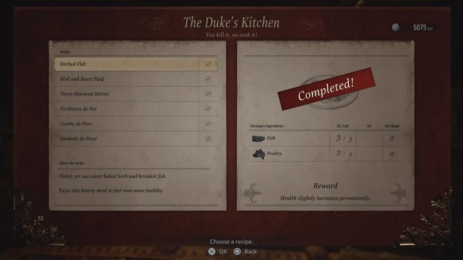 Resident Evil Village: All The Duke's Kitchen Upgrades Guide 1