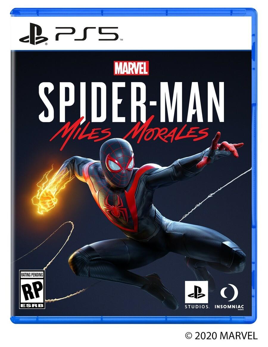 Marvel's Spider-Man PS5 Box Art