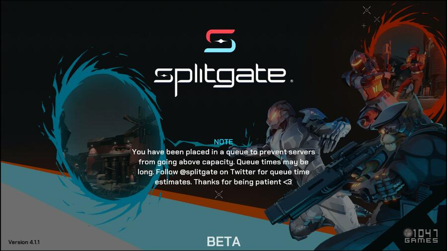 Splitgate: What Are the Server Queue Times? Guide 1