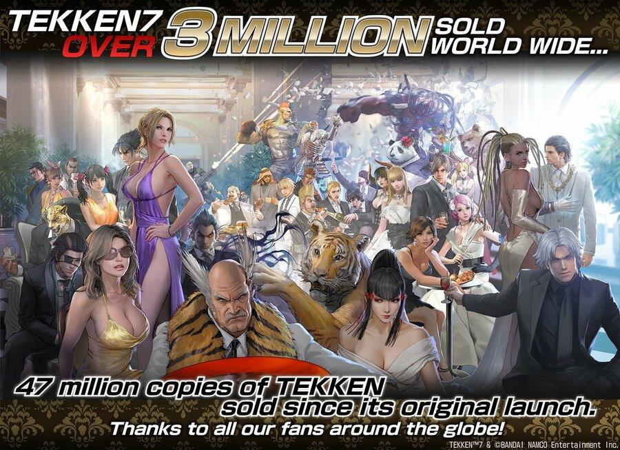 Tekken 7 3 Million Art