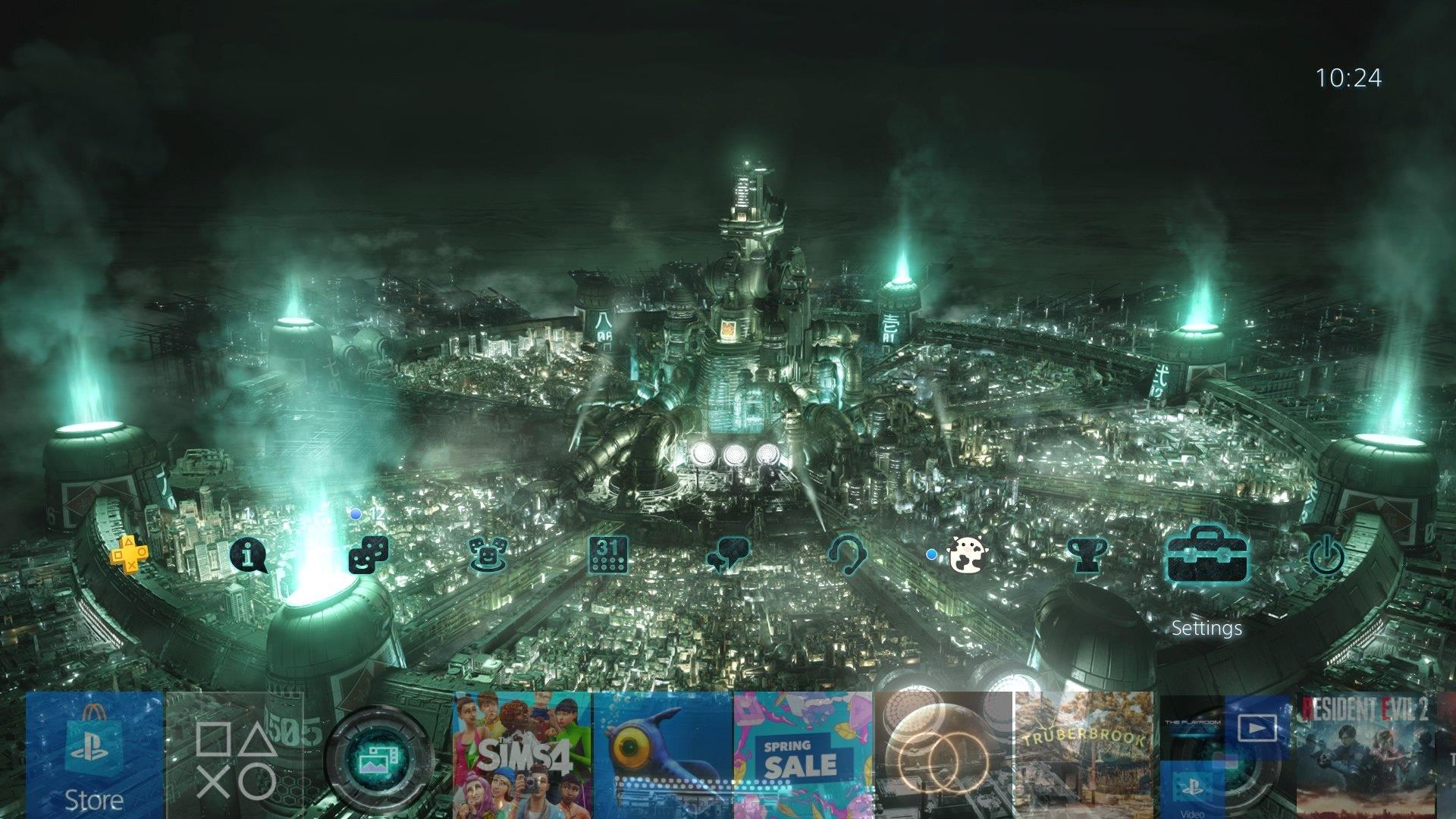 final fantasy vii remake cloud theme.original - PlayStation 4 - Guida: i migliori temi gratuiti da scaricare