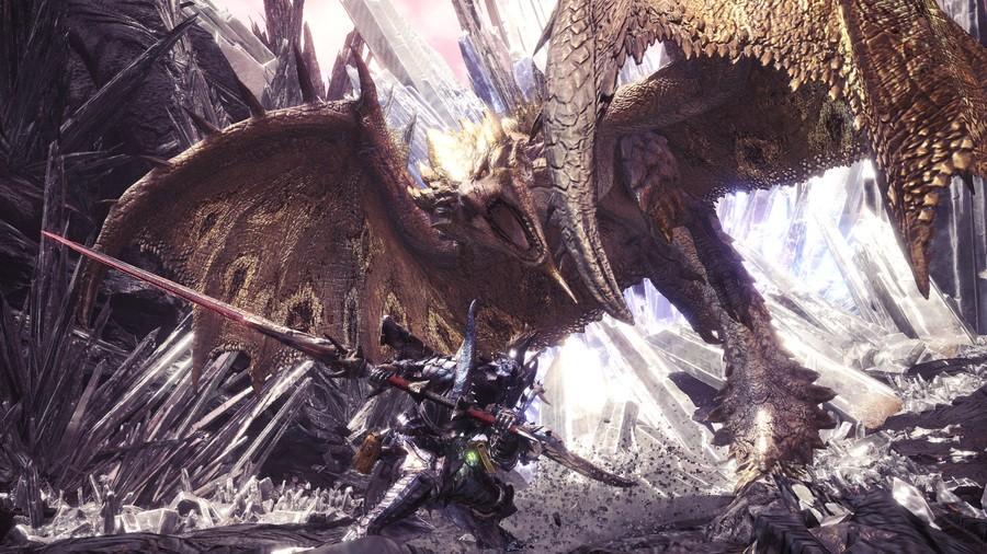 Monster Hunter World Iceborne Gold Rathian Weapons Armour