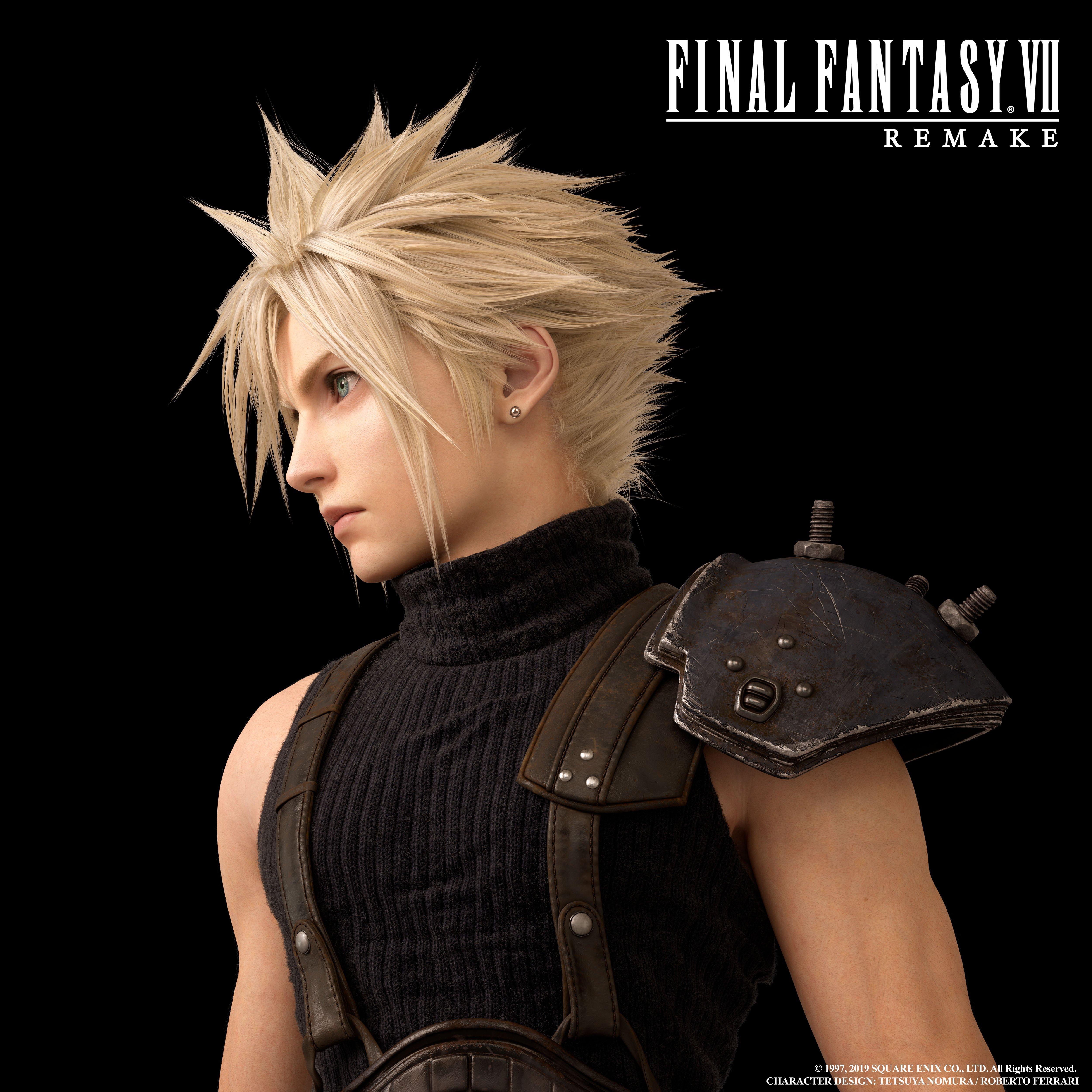 E3 2019: Final Fantasy VII Remake Character Artwork Shows ...