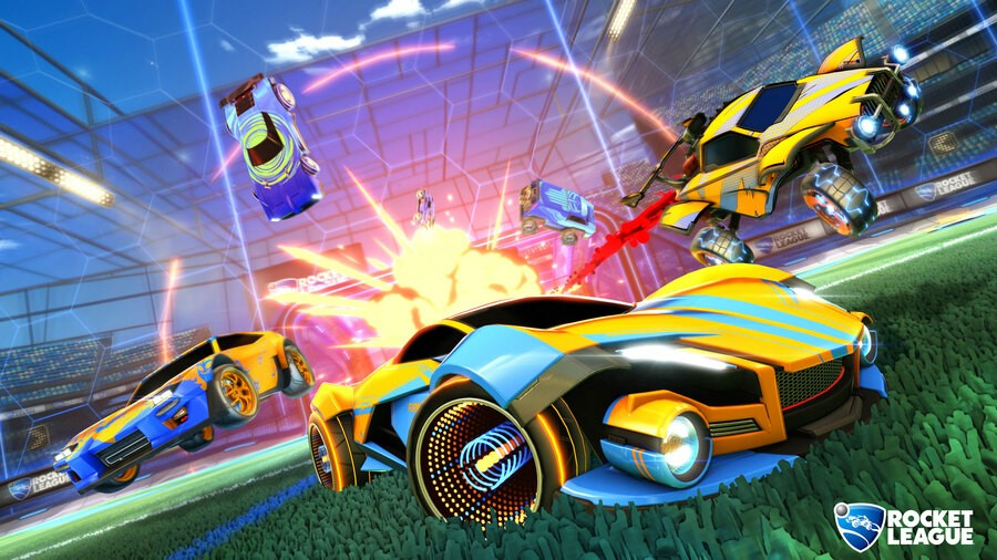 Rocket League PS4 PlayStation 4