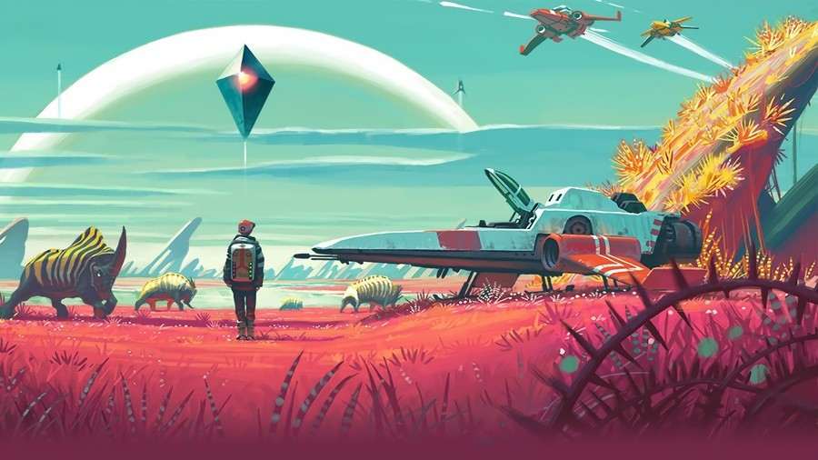 No Man's Sky Beyond 2.04 Patch PS4 PlayStation 4