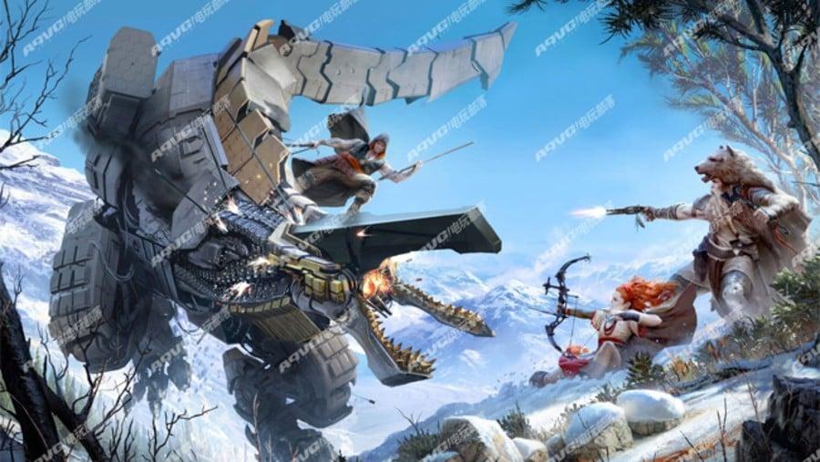 Horizon PlayStation 4 PS4 Exclusive Guerrilla Games