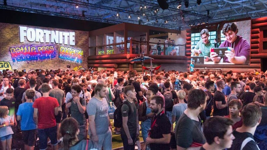 Gamescom Fortnite