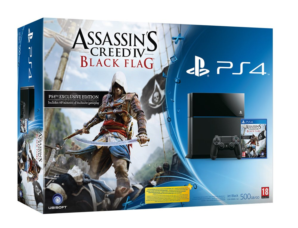 Assassin S Creed Iv Black Flag Ps4 Bundle Makes Prize Plunder