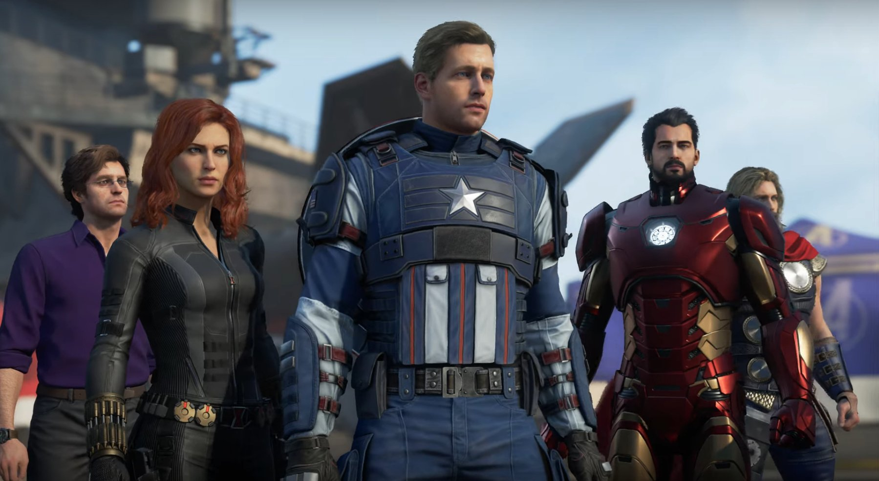 Marvel's Avengers Character Faces Remodelled in New Gameplay Footage