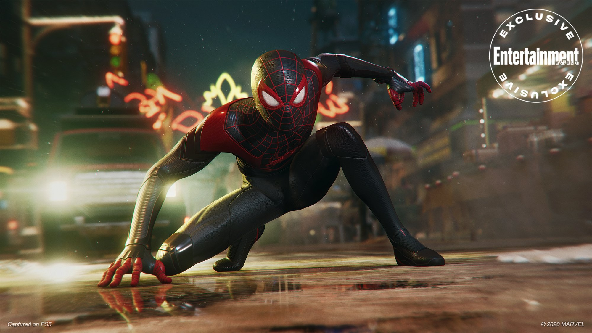 Here's a New Marvel's Spider-Man: Miles Morales PS5 Screenshot - Push Square