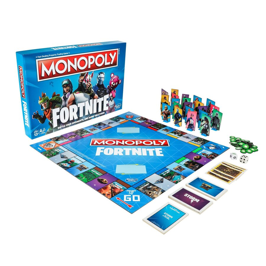 Fortnite Monopoly PS4 PlayStation 4 1
