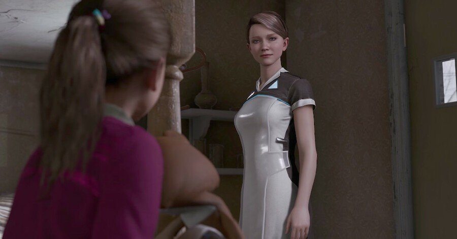 Detroit: Become Human How to Get Kara and Alice to Escape the Recycling Center Guide 1