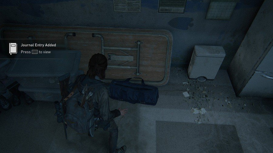 The Last of Us 2 Infiltration Collectibles Journal Entry 1