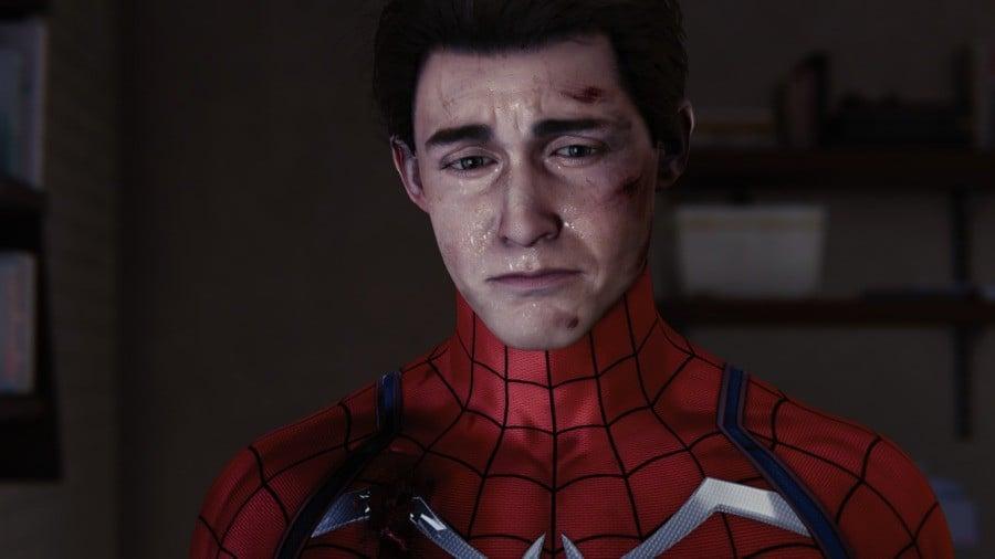 Spider-Man PS5 Peter Parker Face