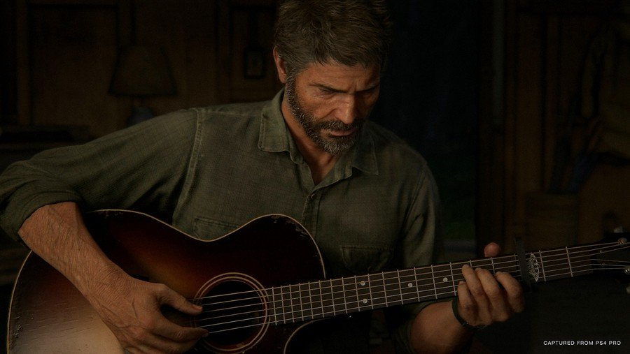 The Last of Us Part II PS4 PlayStation 4 Guitar 1