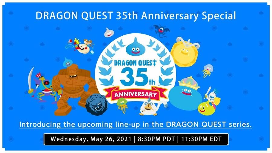 Dragon Quest 35th Anniversary Event