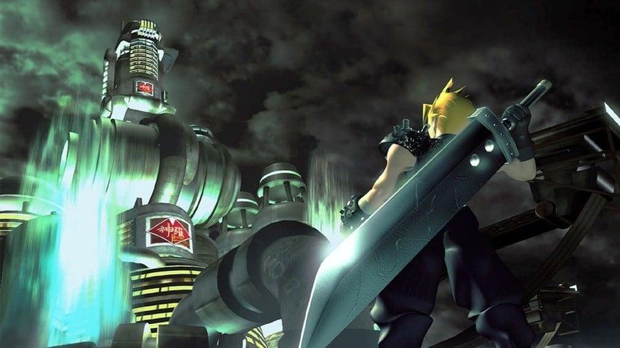 Final Fantasy VII Artwork Remake PS4 PlayStation 4 1