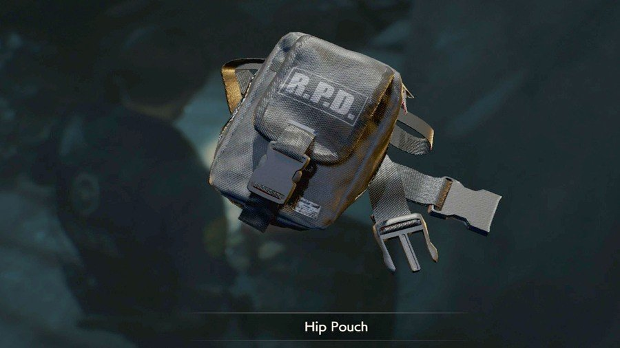 Hip Pouch in Resident Evil 3 remake