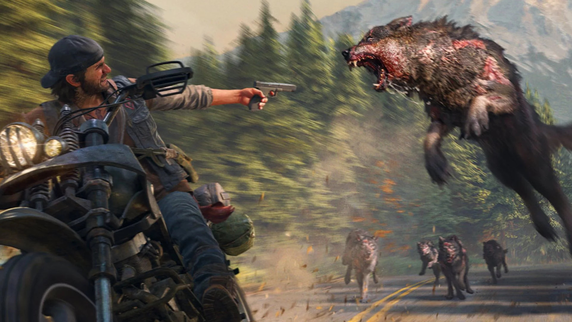 Days Gone Patch 1.61 Reduces the Game's File Size