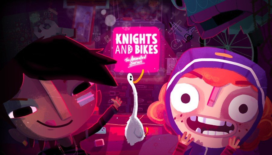 Knights and Bikes Animated Series PS4 PlayStation 4