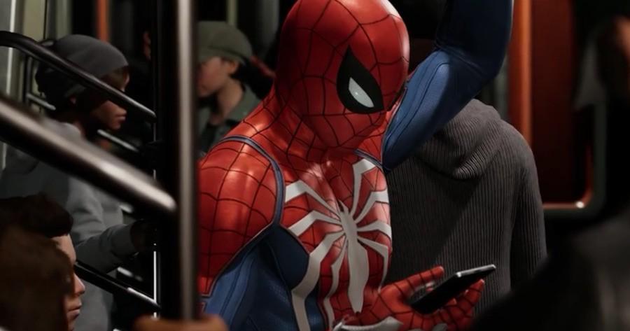 Spider-Man PS4 Social Media Sony 1