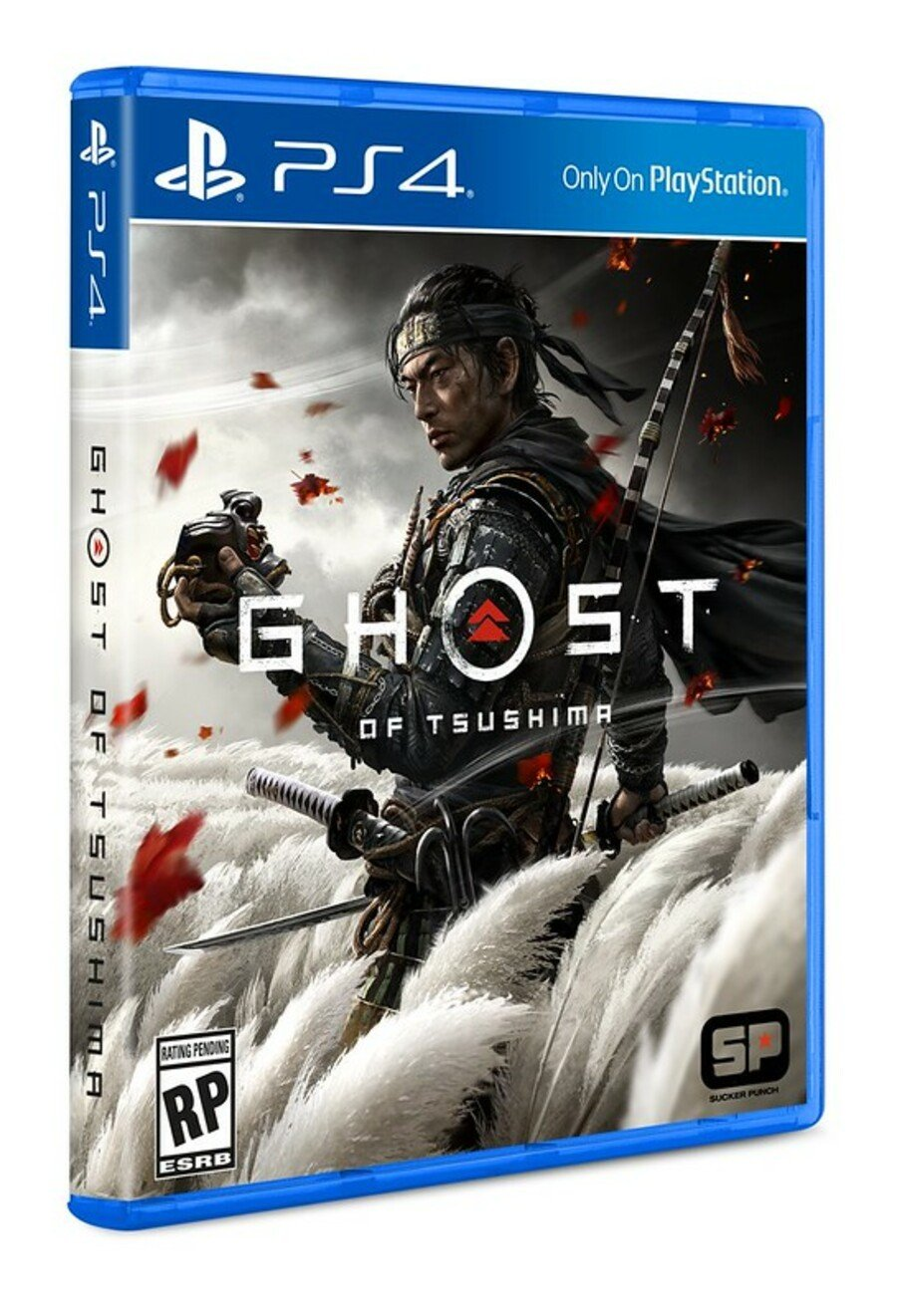 Ghost Of Tsushima PS4 Box Art Cover