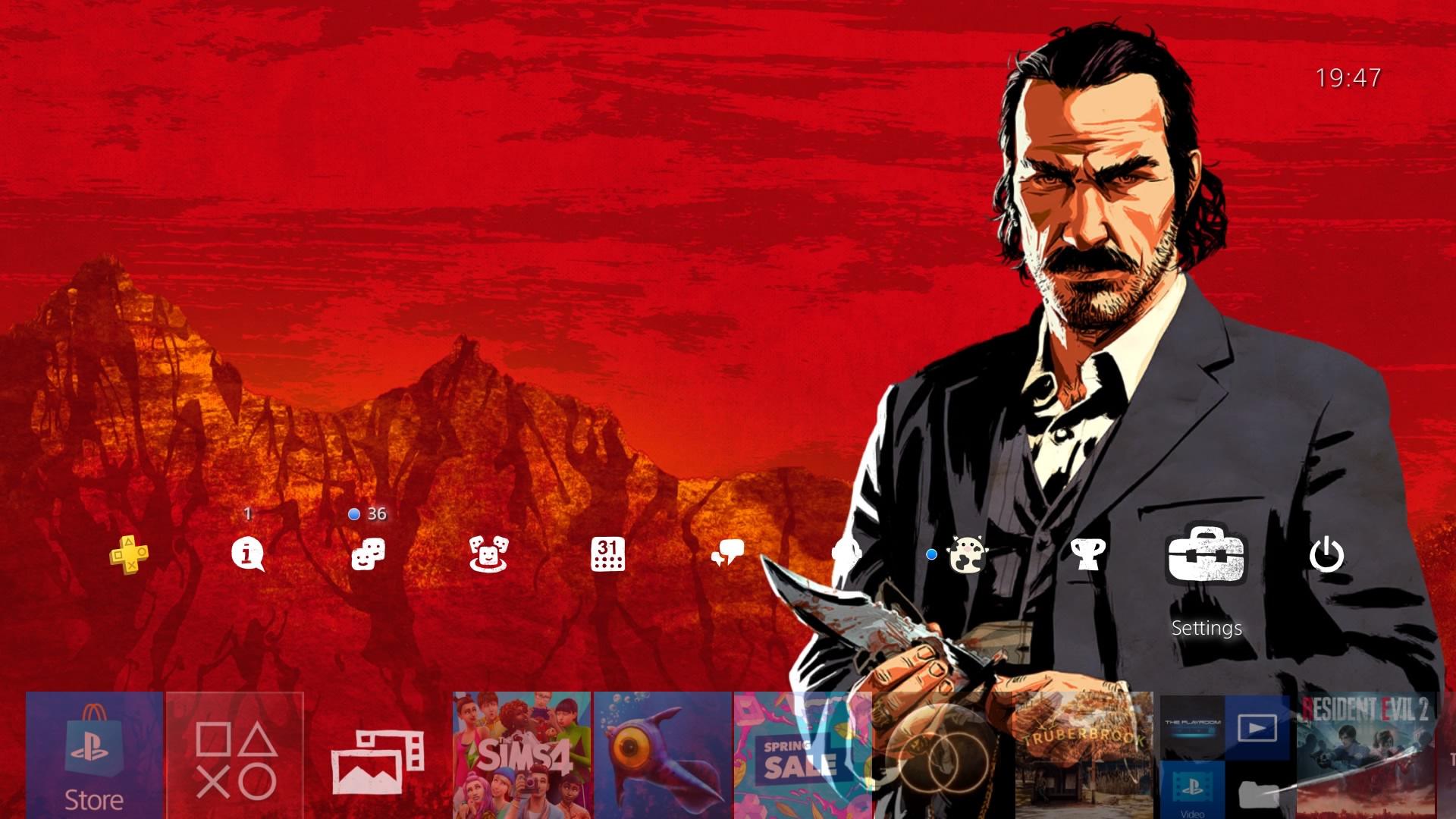 red dead redemption 2 theme.original - PlayStation 4 - Guida: i migliori temi gratuiti da scaricare