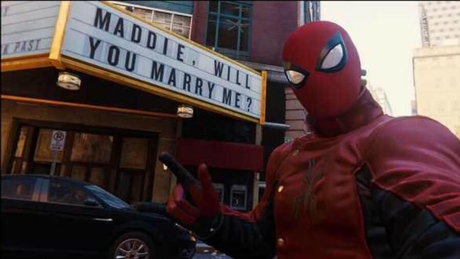 Marvel's Spider-Man Maddie Ps4 PlayStation 4 1
