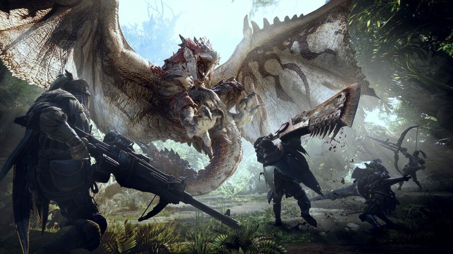 Monster Hunter World free trial ps4