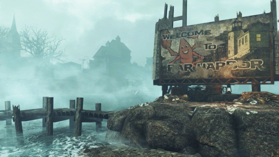 fallout 4 far harbor frame rate ps4