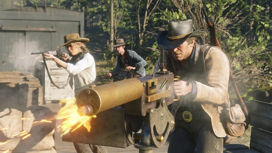 Red Dead Redemption 2 How to Upgrade Weapons Guns Guide 1