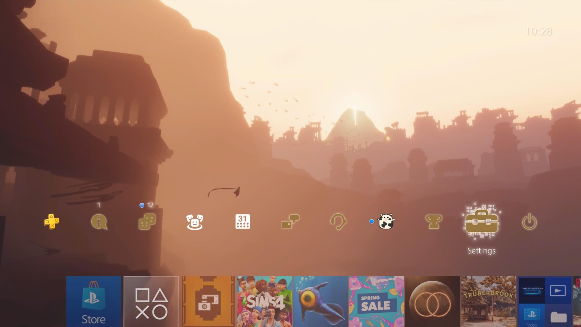 journey static theme.original - PlayStation 4 - Guida: i migliori temi gratuiti da scaricare