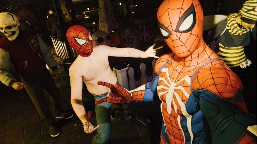 Marvel's Spider-Man Shirtless PS4 PlayStation 4