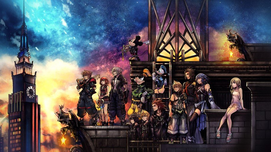 Kingdom Hearts III Big in Japan Sale PS4 PlayStation 4 PS Store Europe North America