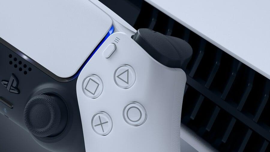 Ps5 Dualsense Controller Close Up