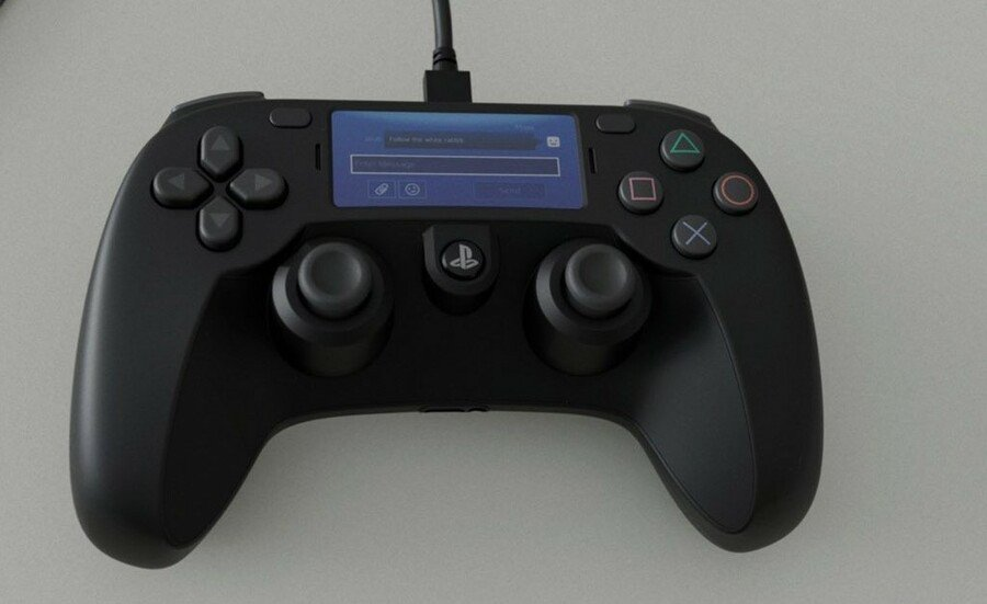 PlayStation 5 PS5 DualShock 5 Rumour Sony 1