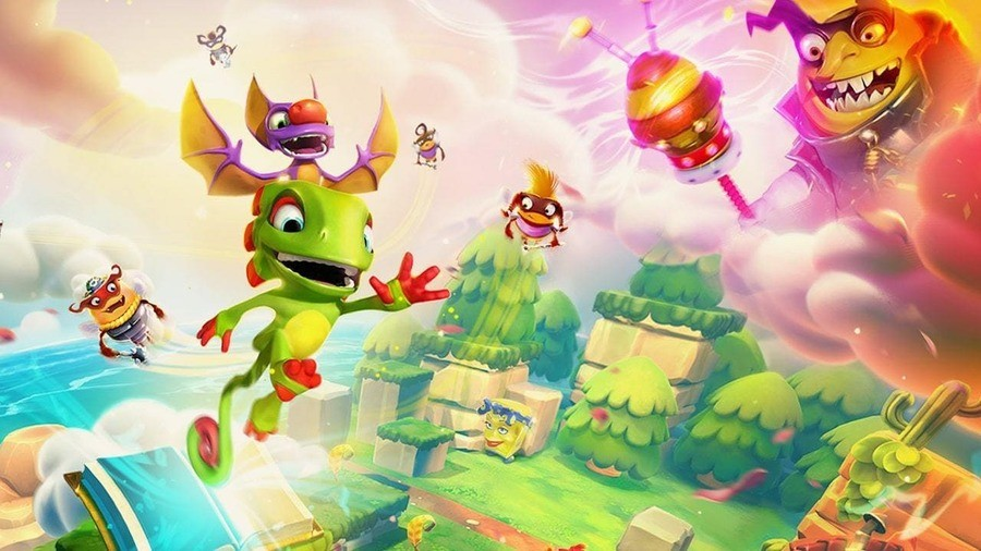 Yooka Laylee And The Impossible Lair PS4