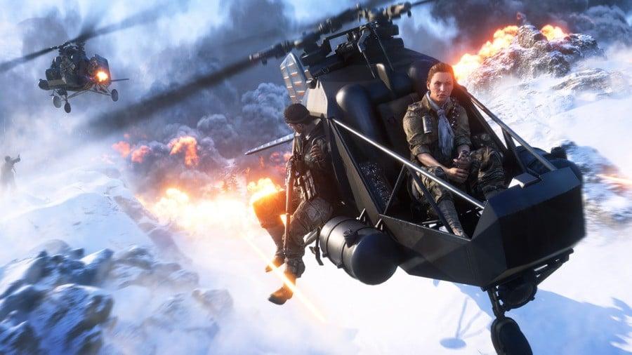 Battlefield V PS4 PlayStation 4 Firestorm