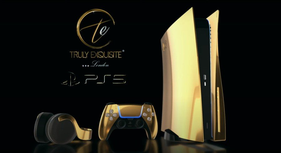 Gold PS5 Pre-Order