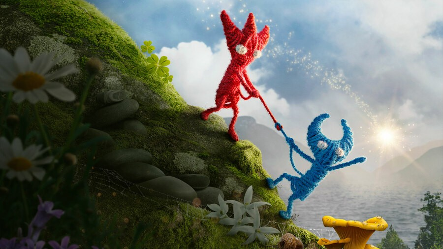Unravel Two Demo PS4 PlayStation 4