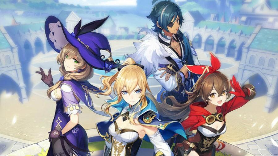 Genshin Impact Release Date PS4