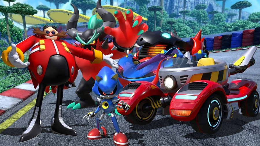 Team Sonic Racing PS4 PlayStation 4